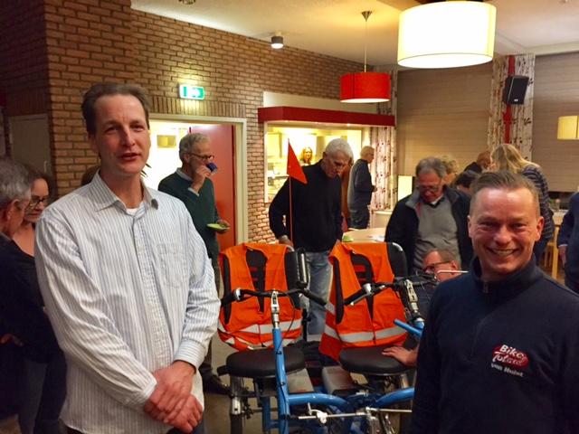 Franc Huisman (links) en Patrick van der Laan (rechts)